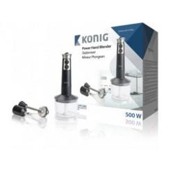 König KN-HB10 Powerstaafmixer 500W + Accessoires